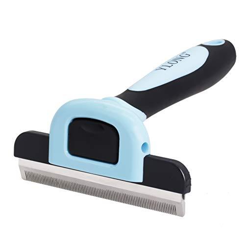 YLONG Dog deShedding Brush Cat Brush for Shedding Effectively Reduces Shedding by Up to 95% Professional Undercoat…