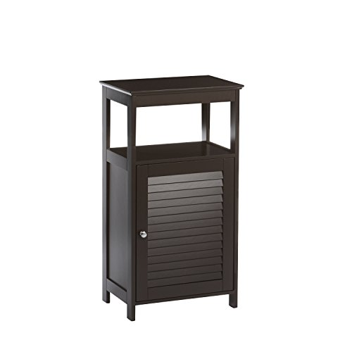 RiverRidge Ellsworth Collection Single Door Floor Cabinet, Espresso