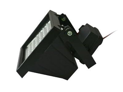 CMVision IR50-940 IR Illuminator with 46pc IR LED Indoor/Outdoor Long Range 10-30ft 940nm wave length IR Illuminator With Free 1A 12VDC Adaptor and 2.1mm DC cable