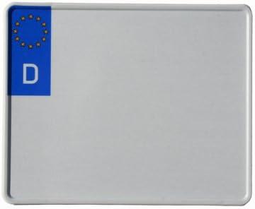 reflektierend Motorradschilder mit Wunschkennzeichen Motorrad-Kennzeichen EU 230 x 200 mm
