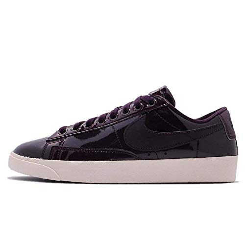 Nike Women's Blazer Low SE PRM Casual Shoe (8 B(M) US, Port Wine/Space Blue) ()