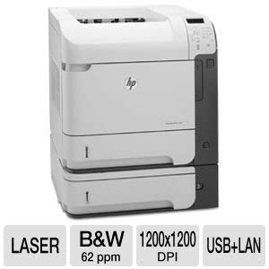 Tray Paper 500 Sheet Input (Certified Refurbished HP LaserJet 600 M603XH M603 CE996A Laser Printer with toner & 90-Day Warranty CRHPM603XH)