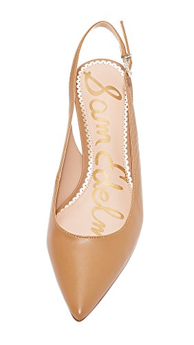Leather Pumps Sam Ludlow Caramel Edelman Women's Golden qxgUf