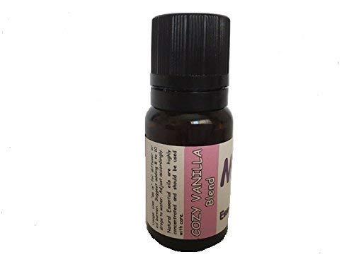 Aromatherapy Diffuser essential oil blend - COZY VANILLA - 100% pure oil