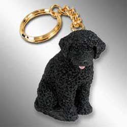 Portuguese Water Dog Keychain - New Water Portuguese