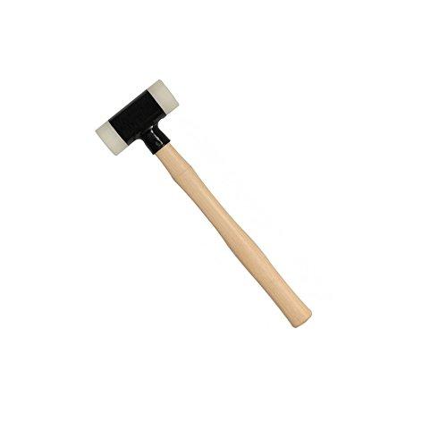 Schonhammer Rückschlagfrei 40mm Kunststoff Schutz Hammer 340mm Länge - 05100102