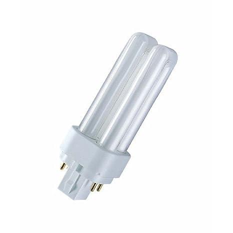 Osram Dulux D E Lampe Fluocompacte G24q 1 Chaud 827 10 W Amazon