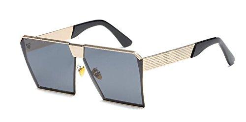 style vintage cercle Feuille en retro du polarisées soleil lunettes inspirées Complète métallique B Grise Lennon de rond XA4qg