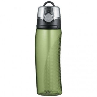 Nissan Thermos Travel Mug Hydration Water Bottle with Meter