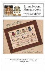 - Patriot's Row Cross Stitch Chart