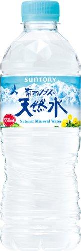 サントリー 南アルプスの天然水 550ml×24本 ナチュラルミネラルウォー...