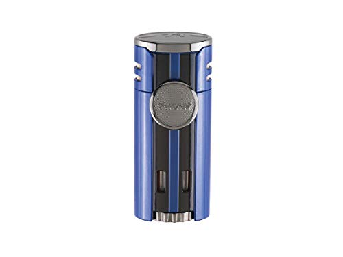 High Performance HP4 Quad Flame Cigar Lighter in an Attractive Gift Box Lifetime Warranty Gunmetal 2 by Xikar (Image #2)