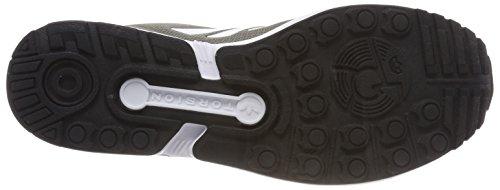 ZX Footwear Cargo Uomo Black White Verde Flux adidas Core Sneaker Trace dPngRx
