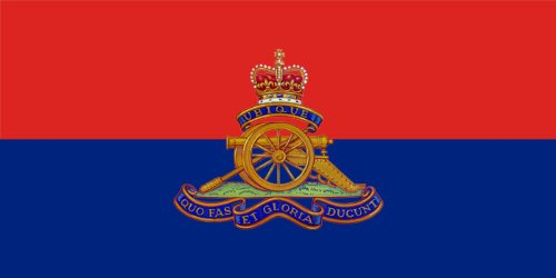 5ft x 3ft (150 x 90 cm) British Army Royal Artillery Regiment Material Flag by Flag ()