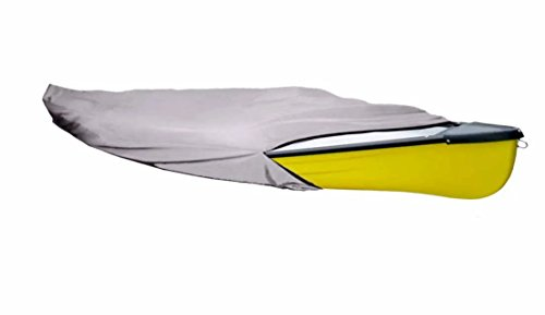 iCOVER-Water-Proof-Heavy-Duty-Kayak-Canoe-Cover-Fits-Kayak-or-Canoe-up-to-16ft-Long-and-Beam-Width-up-to-36in-Grey-K7303