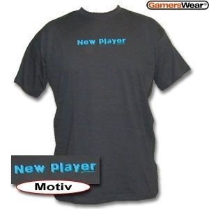 Game rswear – New Player Maglietta da uomo, colore: antracite