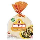 Mission, Corn Tortillas, 30 Count, 27.5oz Bag