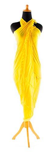 Kascha Trading - Camisola - para mujer amarillo