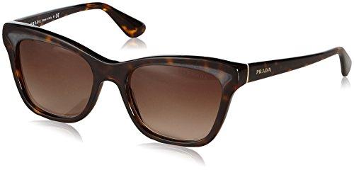 Prada 16PS 2AU6S1 Tortoise 16PS Parallel Universes Wayfarer Sunglasses Lens - Eyewear Prada 2013