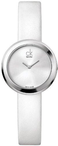 K3N231L6 Calvin Klein Ck Firm Leather Ladies Watch