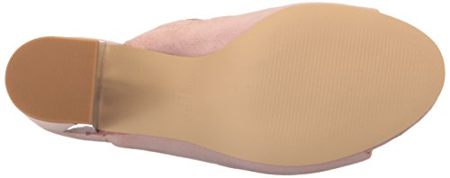 West Suede Gemily Mule Pink Light Nine Women's dvtnvq