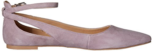7 M Lilac Pavilion Leather Ballet Flat Kid US Clear Franco Sylvia Sarto L French Women's Beige xwqnZn17Pp