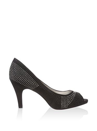 Lotus - Zapatos de vestir para mujer Negro negro Negro - negro