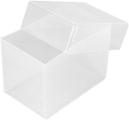 Westonboxes Visitenkartenbox Aus Kunststoff 70 Mm Tief Transparent 5 Stück Farblos