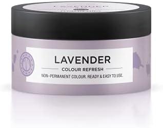 Maria Nila Colour Refresh Lavender 100 ml een revolutionair kleurmasker voor het opfrissen en intensiveren van de haarkleur