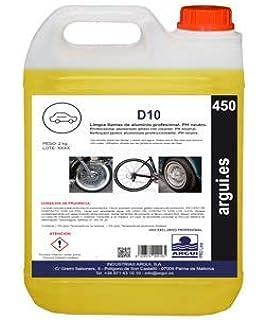 Limpia Llantas Profesional pH Neutro. Elimina la Suciedad sin