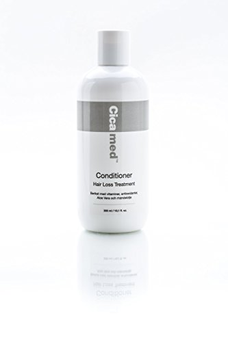 Cicamed Organic Science Hair Loss Treatment Conditioner,White,300 ML/ 10.1 FL. OZ. by Cicamed
