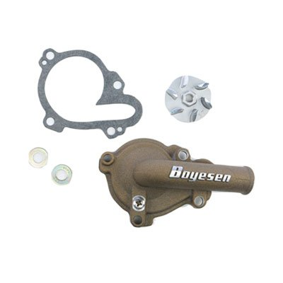 Boyesen Supercooler Water Pump Cover and Impeller Kit Magnesium for Yamaha WR250F 2001-2009