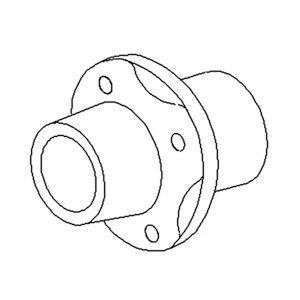Hub Tail Wheel 5
