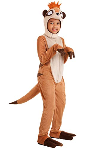 Timon Costumes For Adults - Kid's Meerkat Costume