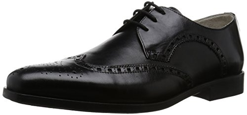 Black ClarksAmieson de Limit Vestir Zapatos Negro Leather Hombre 7zZYOqxz