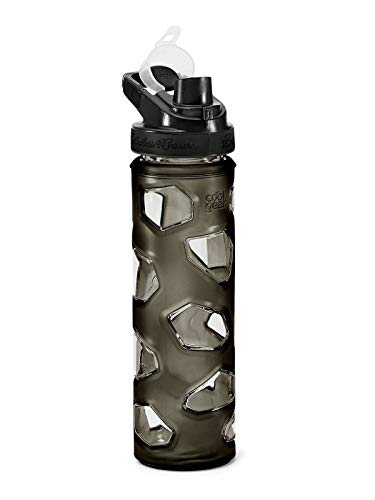 (Eddie Bauer Unisex-Adult Rocktagon 22 oz Bottle, Carbon Regular ONESZE)