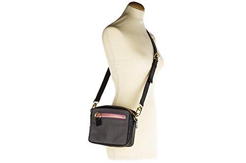 Kenzo borsa donna a tracolla pelle borsello nero