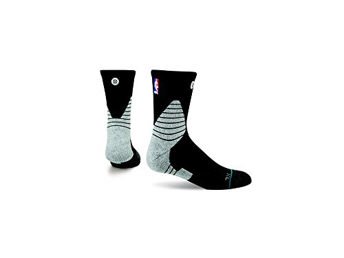 Stance Black Solid Quarter Socks