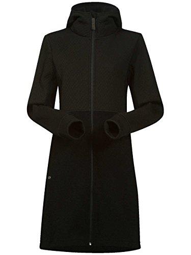 Bergans abrigo de WOLL de mujer Flora 5557 negro