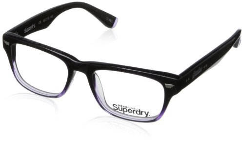 Superdry Jetstar-161 Rectangular Eyeglasses,Purple & Crystal,52 - Superdry Case Sunglasses
