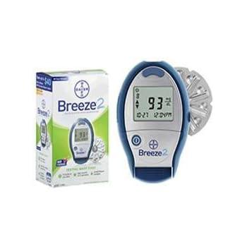Amazon Com Bayer Ascensia Breeze 2 Blood Glucose