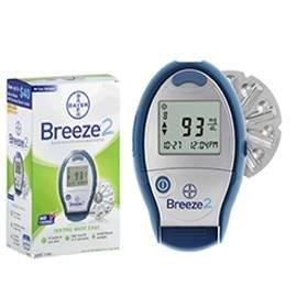 Bayer Ascensia Breeze 2 Sang système de surveillance du glucose