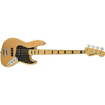 Squier by Fender 306702505 Vintage Modified Jazz Bass '70s, Olympic White