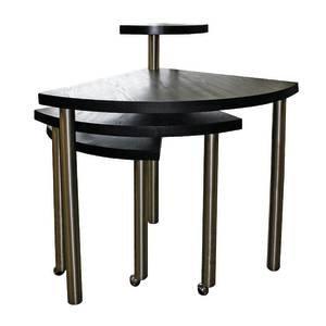 (Number Nine Retail Display Table, Dark Wood)