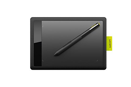 Wacom Blue Pen - Wacom Bamboo CTL471 Pen Tablet for PC/MAC (Black and Lime)