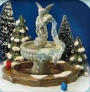 SNOW VILLAGE DEPARTMENT 56 WINTER FOUNTAIN 5409-7 by Department 56