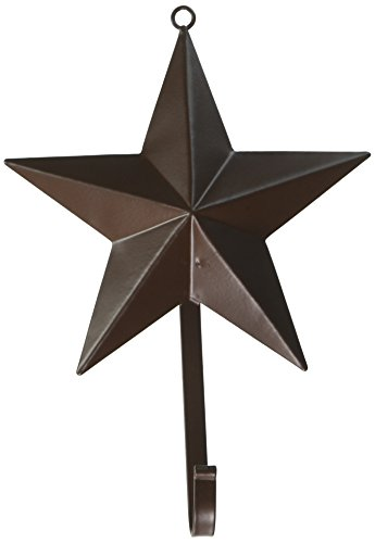 - Darice 6557-88 Star 3D with Hook Rustic, 5.5
