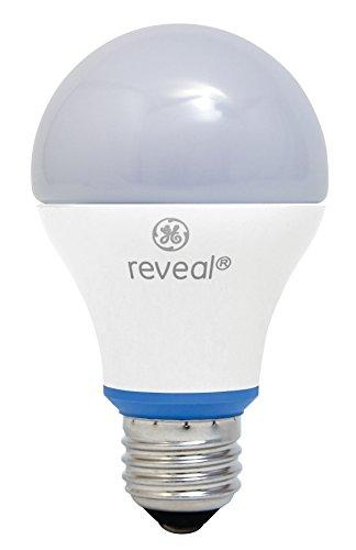 Ge Natural (GE Lighting 63180 Reveal LED 11-Watt (60-watt replacement), 800-Lumen A19 Bulb with Medium Base, 1-Pack)