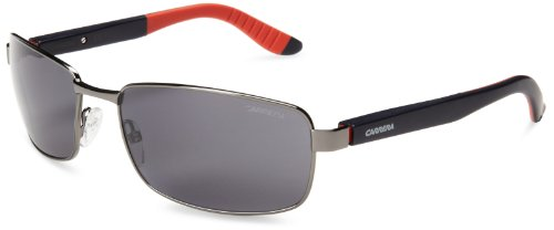 Carrera mens Ca8004S Polarized Sport Sunglasses,Dark Ruthenium,62 - Carrera Sport Sunglasses