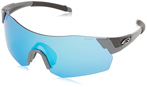 SMITH - Lunette de soleil Pivlock Are.Max Enveloppante Matte Cement/Blue Sol-X